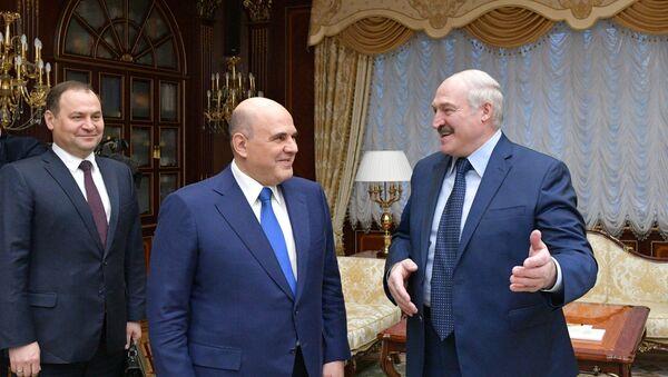 Михаил Мишустин прибыл с визитом в Минск - Sputnik Беларусь