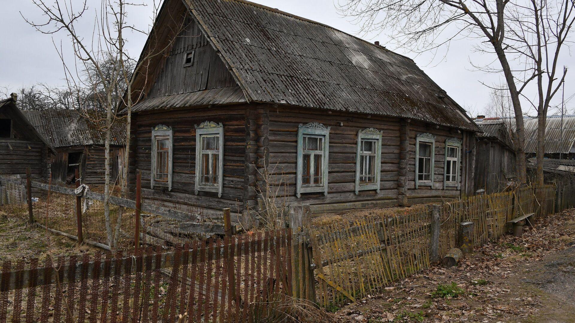 Стары дом у вёсцы - Sputnik Беларусь, 1920, 28.09.2021