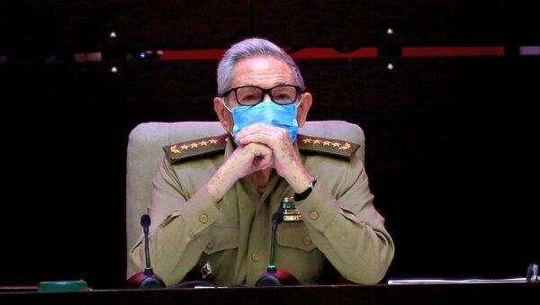 Бывший глава Компартии Кубы Рауль Кастро - Sputnik Беларусь