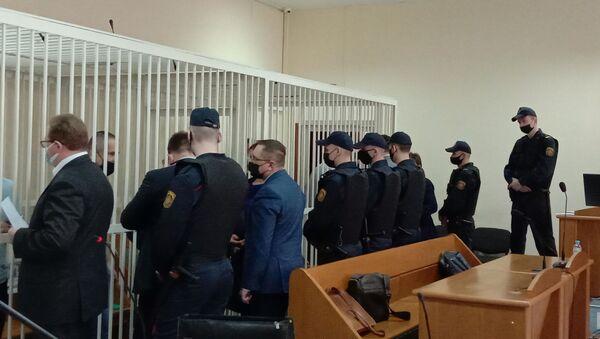 У суд па справе Бабарыкі пачалі выклікаць для допыту супрацоўнікаў банка - Sputnik Беларусь