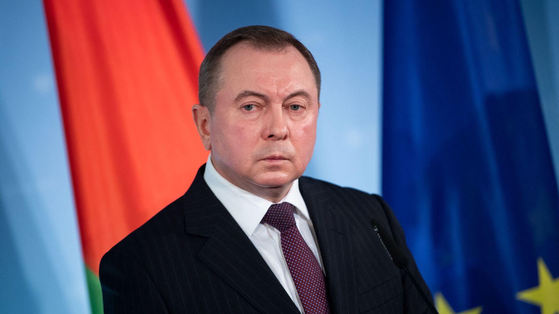 Министр иностранных дел Владимир Макей - Sputnik Беларусь, 1920, 23.09.2021