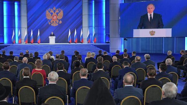 Послание президента РФ Федеральному собранию - Sputnik Беларусь