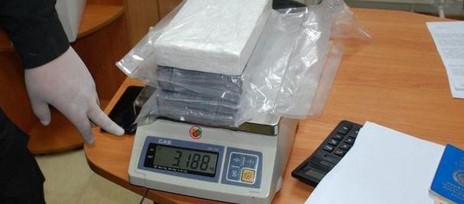 Более трех килограммов наркотика нашли у водителя-дальнобойщика - Sputnik Беларусь, 1920, 21.04.2021