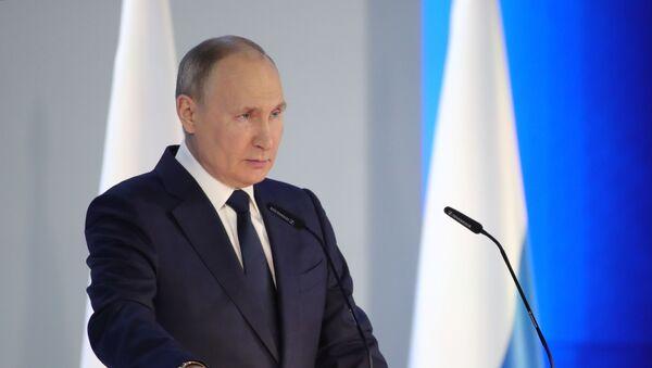 Ежегодное послание президента РФ Федеральному Собранию - Sputnik Беларусь