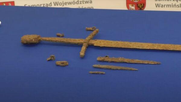 Грюнвальдская битва: в Польше нашли средневековый меч - Sputnik Беларусь