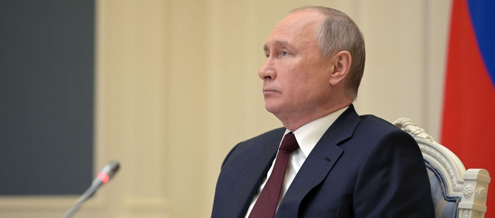 Президент РФ Владимир Путин - Sputnik Беларусь, 1920, 22.04.2021