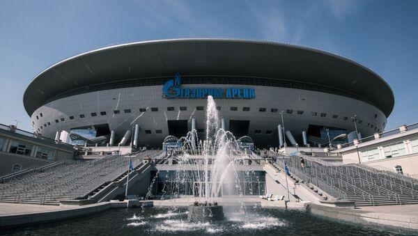 Футбольный стадион Газпром Арена в Санкт-Петербурге - Sputnik Беларусь