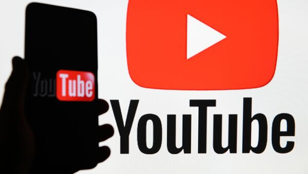 Логотип видеохостинга YouTube - Sputnik Беларусь