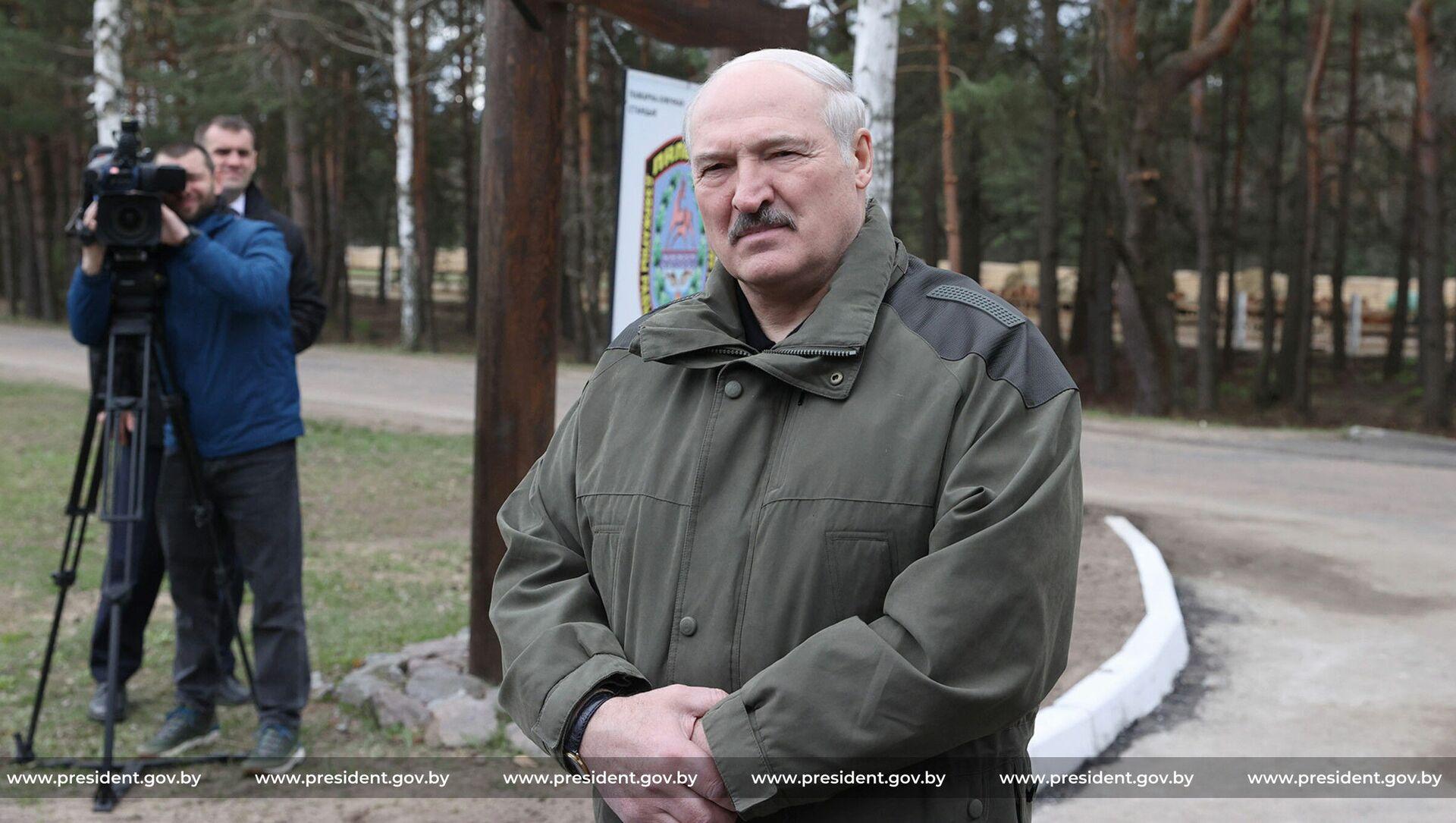 Александр Лукашенко в Наровлянском районе - Sputnik Беларусь, 1920, 01.05.2021