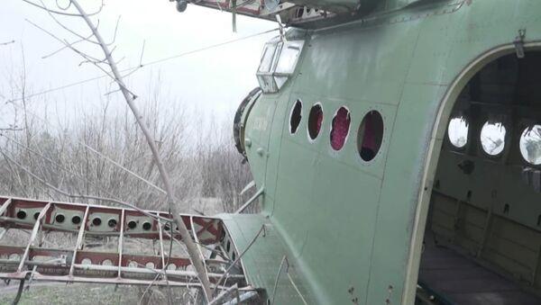 Вид с высоты: как выглядит кладбище самолетов под Харьковом - видео - Sputnik Беларусь