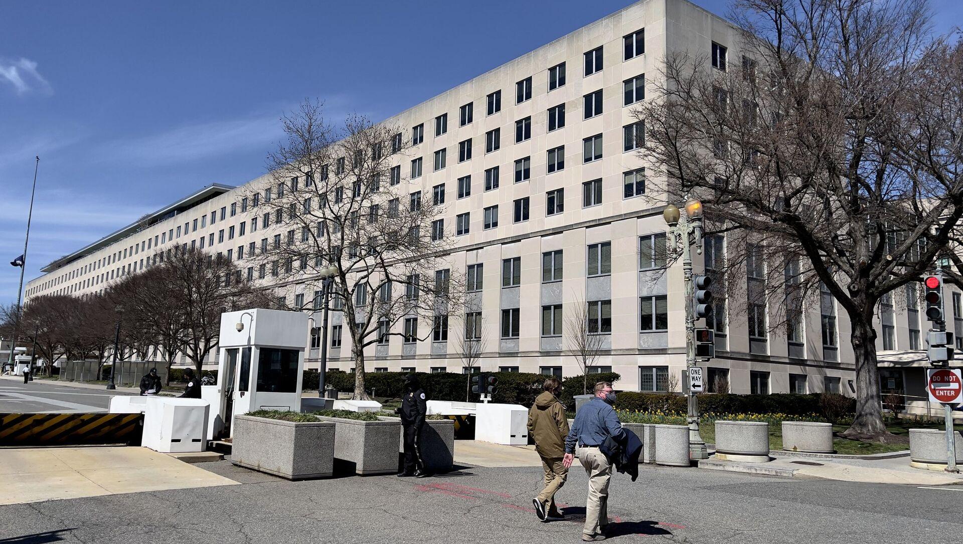 Здание Госдепартамента США - Sputnik Беларусь, 1920, 27.04.2021