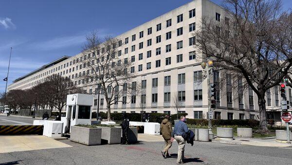 Здание Госдепартамента США - Sputnik Беларусь