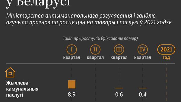 Прагноз павышэння рэгуляваных коштаў – 2021 у Беларусі - Sputnik Беларусь