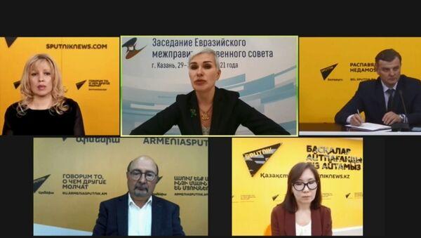 СПУТНИК_LIVE: Відэамост з удзелам памочніка старшыні Калегіі ЕЭК Малкінай - Sputnik Беларусь