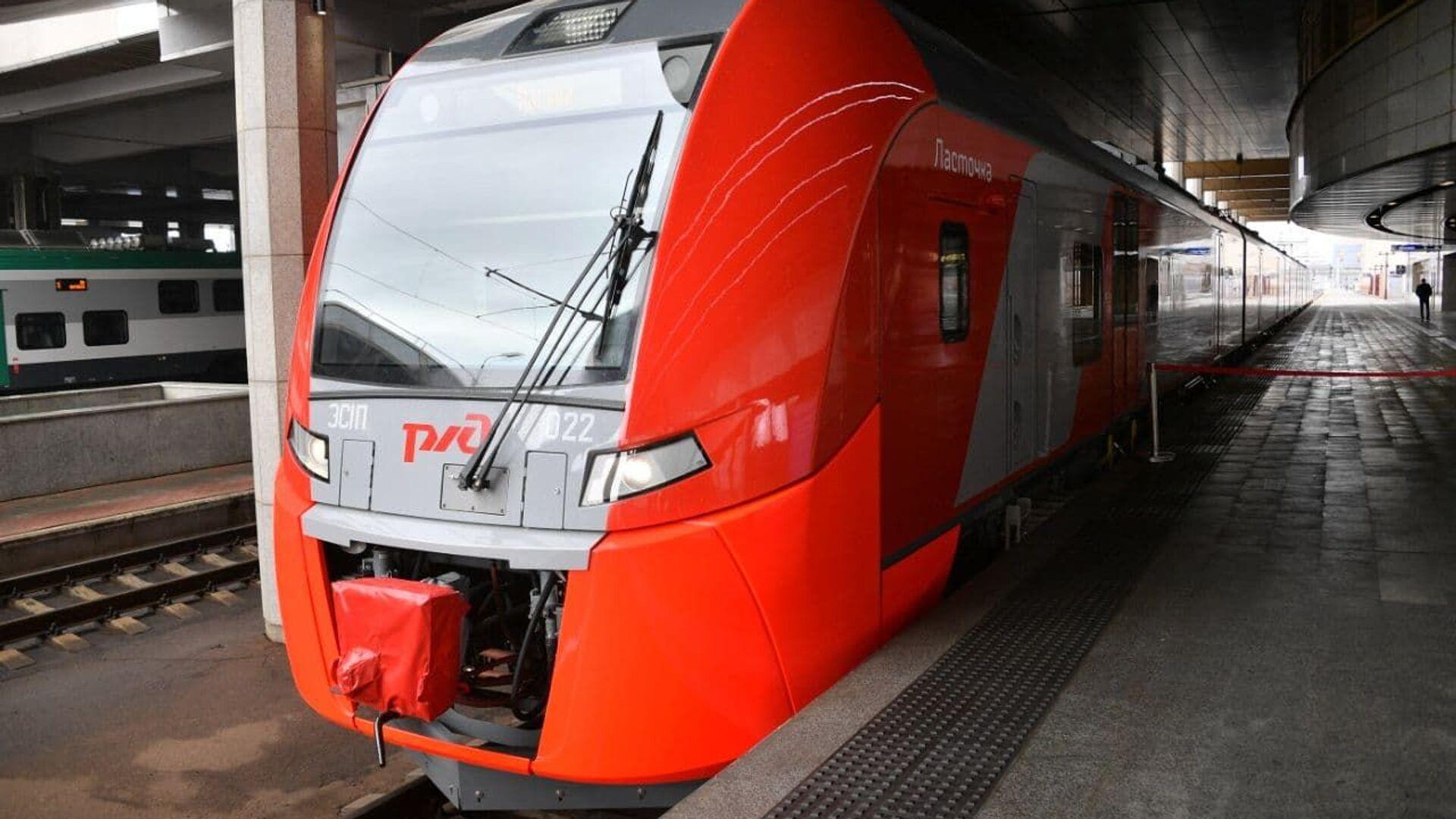 Поезд Ласточка начинает курсировать между Минском и Москвой - Sputnik Беларусь, 1920, 20.09.2021