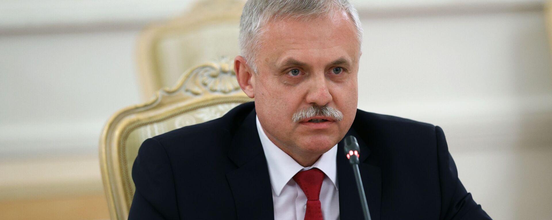 Генеральный секретарь Организации Договора о коллективной безопасности (ОДКБ) Станислав Зась - Sputnik Беларусь, 1920, 01.05.2021