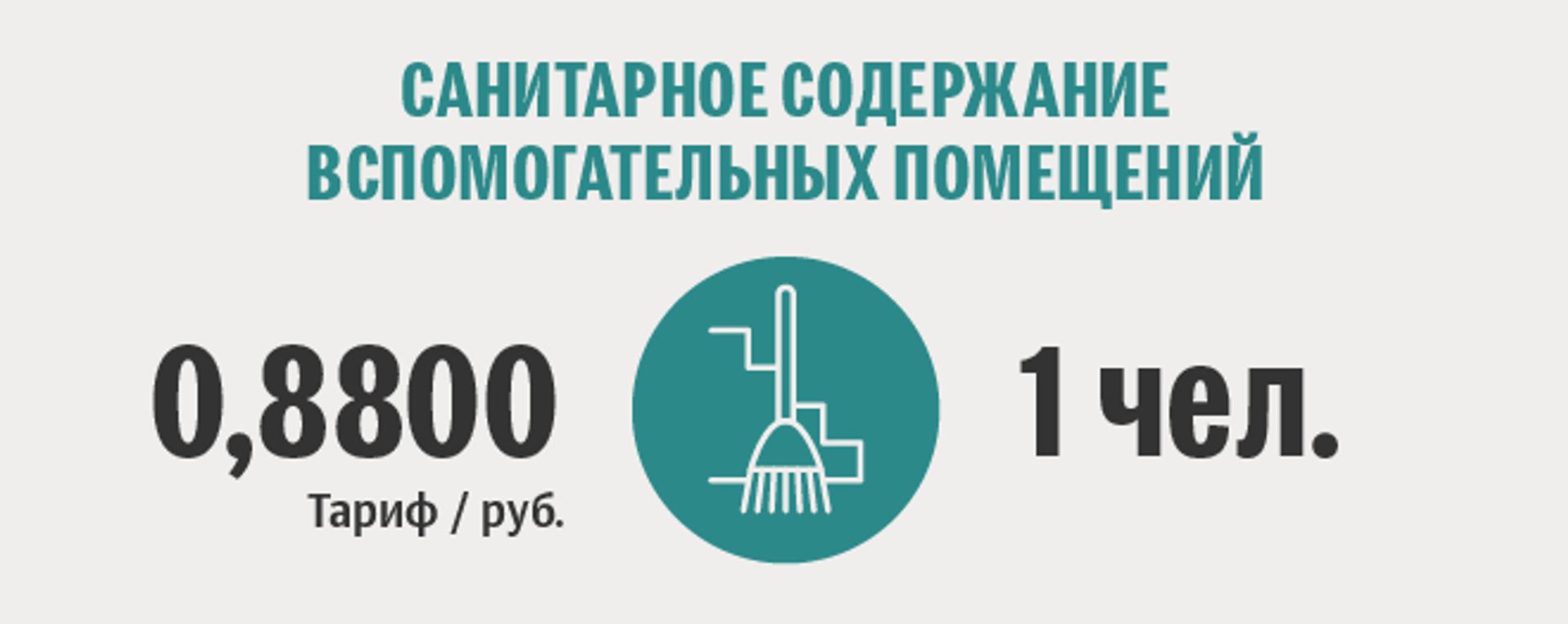 Тарифы белорусской жировки: санитарное содержание вспомогательных помещений - Sputnik Беларусь, 1920, 29.06.2021