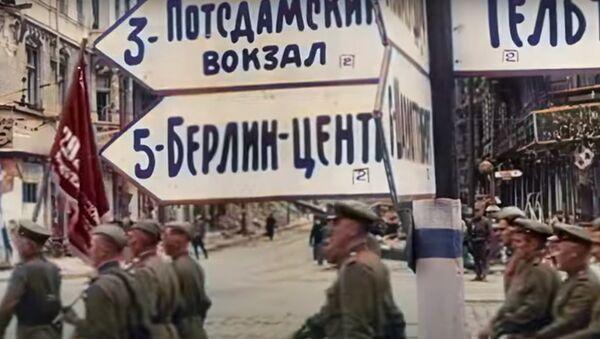 Больш не манахромная: нейрасеткі размалявалі ваенную кінахроніку - відэа - Sputnik Беларусь