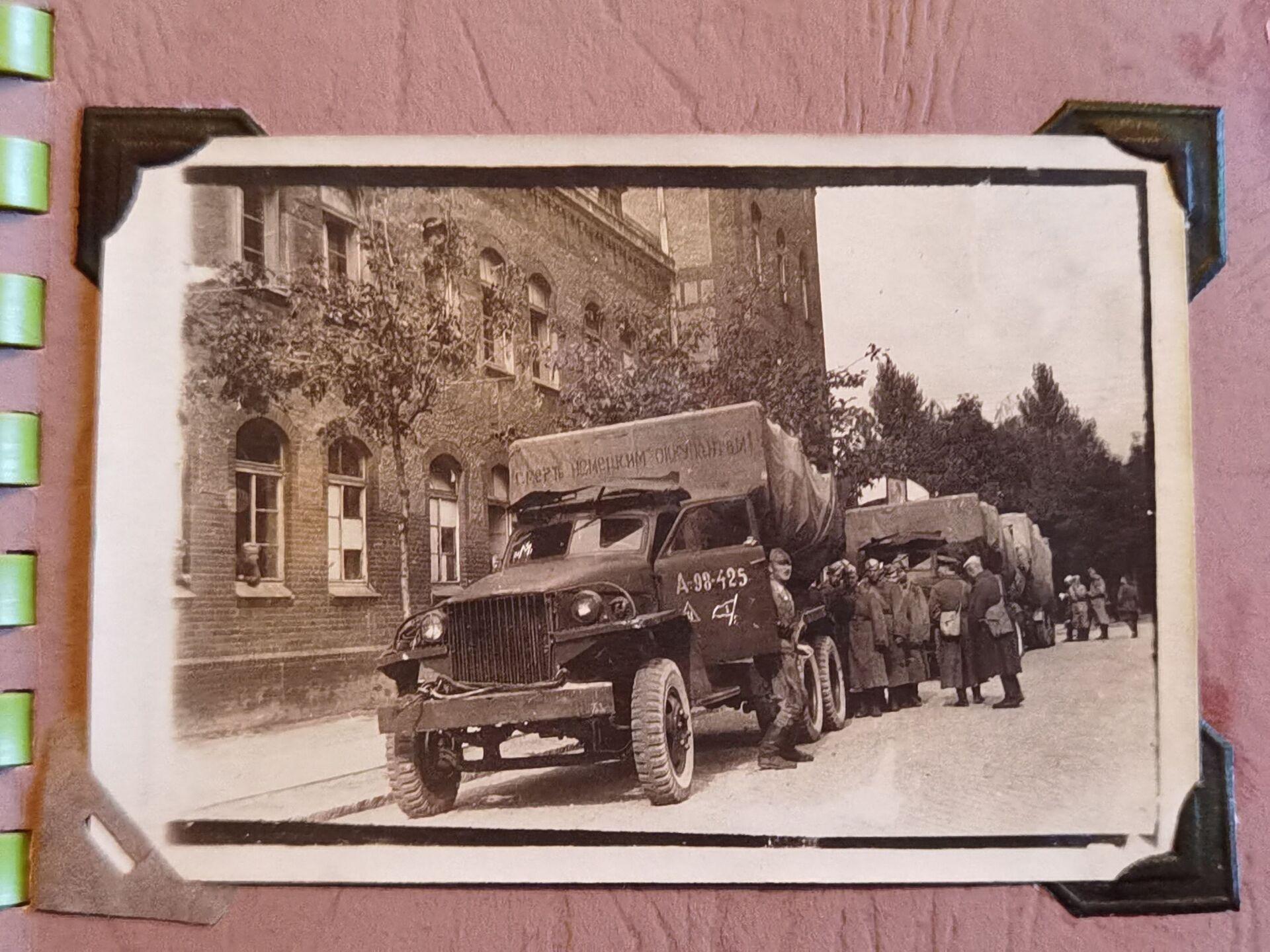 На этой машине Лисовский прошел войну до Берлина - Sputnik Беларусь, 1920, 29.06.2021