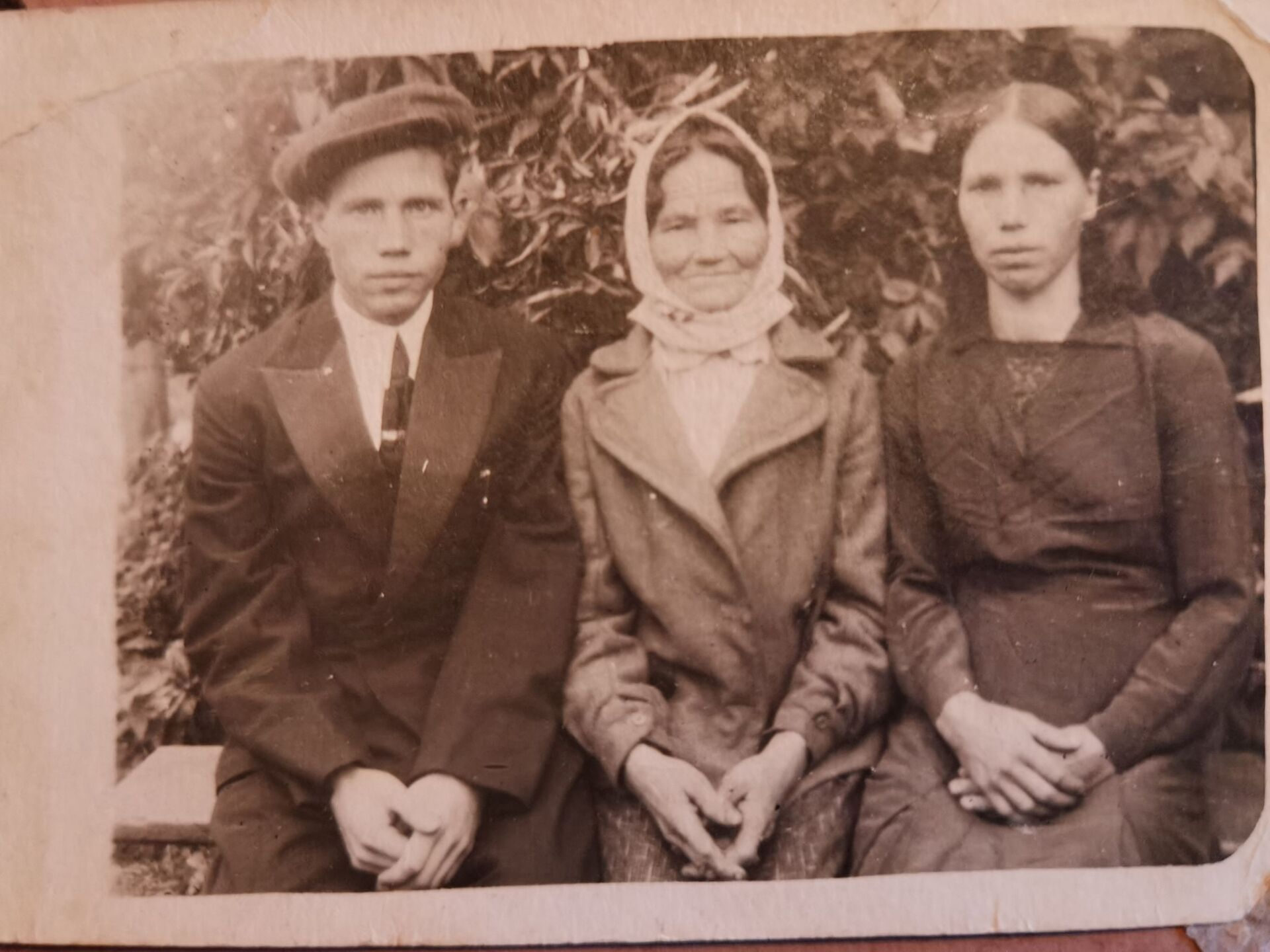 После возвращения домой Федор Минович узнал, что в живых остались лишь мать и сестра - Sputnik Беларусь, 1920, 29.06.2021
