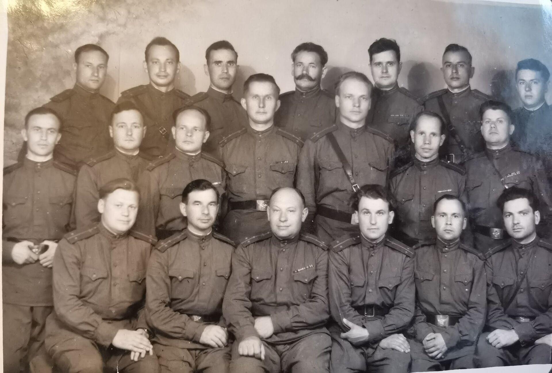 Лисовский с сослуживцами - Sputnik Беларусь, 1920, 29.06.2021