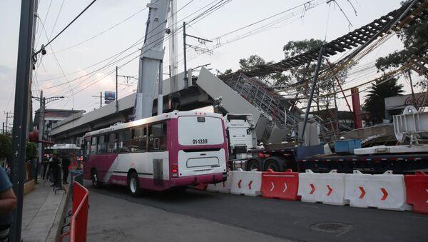 Обрушение метромоста в Мехико - Sputnik Беларусь
