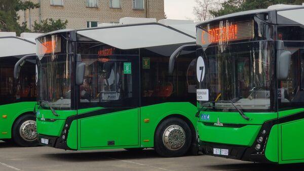 На вуліцы Мінска і абласных гарадоў выйдуць новыя электробусы – відэа - Sputnik Беларусь