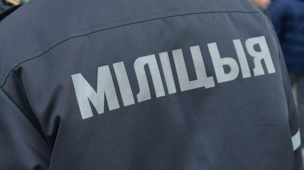 Сотрудники милиции, архивное фото - Sputnik Беларусь