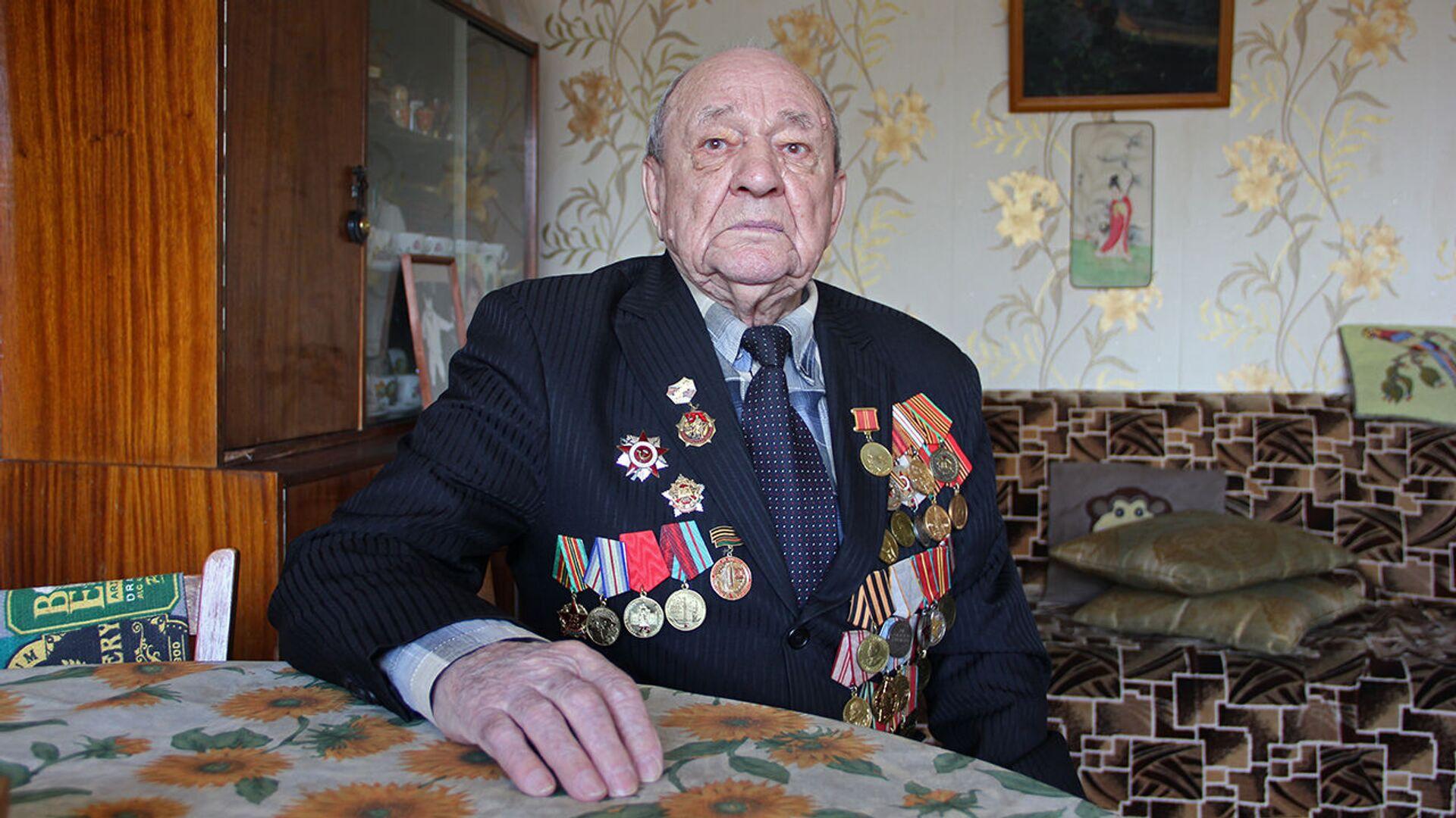 Фронтовик: никто не знал, что мы участвуем в величайшей военной операции - Sputnik Беларусь, 1920, 29.06.2021