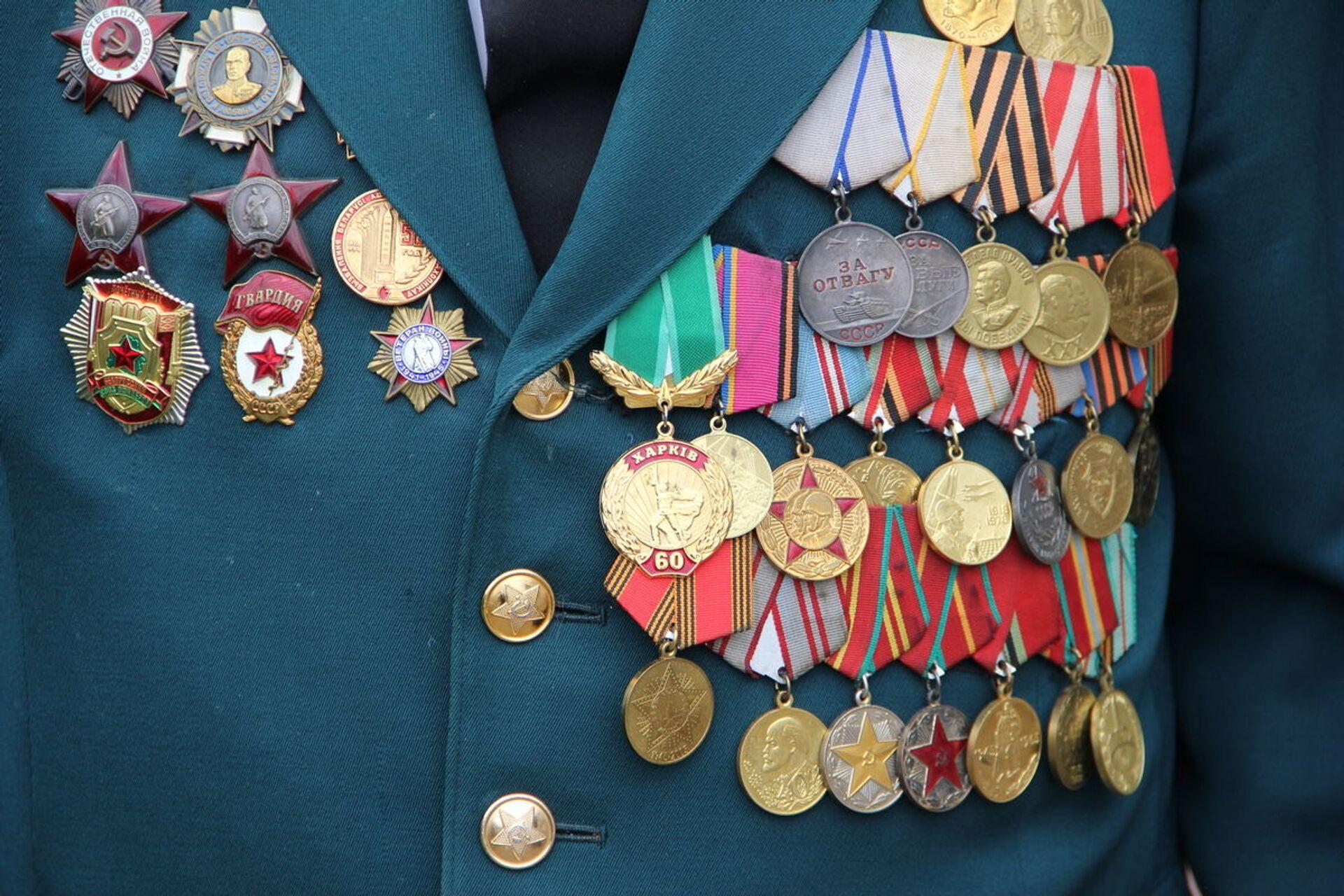 Среди наград - медали За отвагу и За боевые заслуги - Sputnik Беларусь, 1920, 29.06.2021