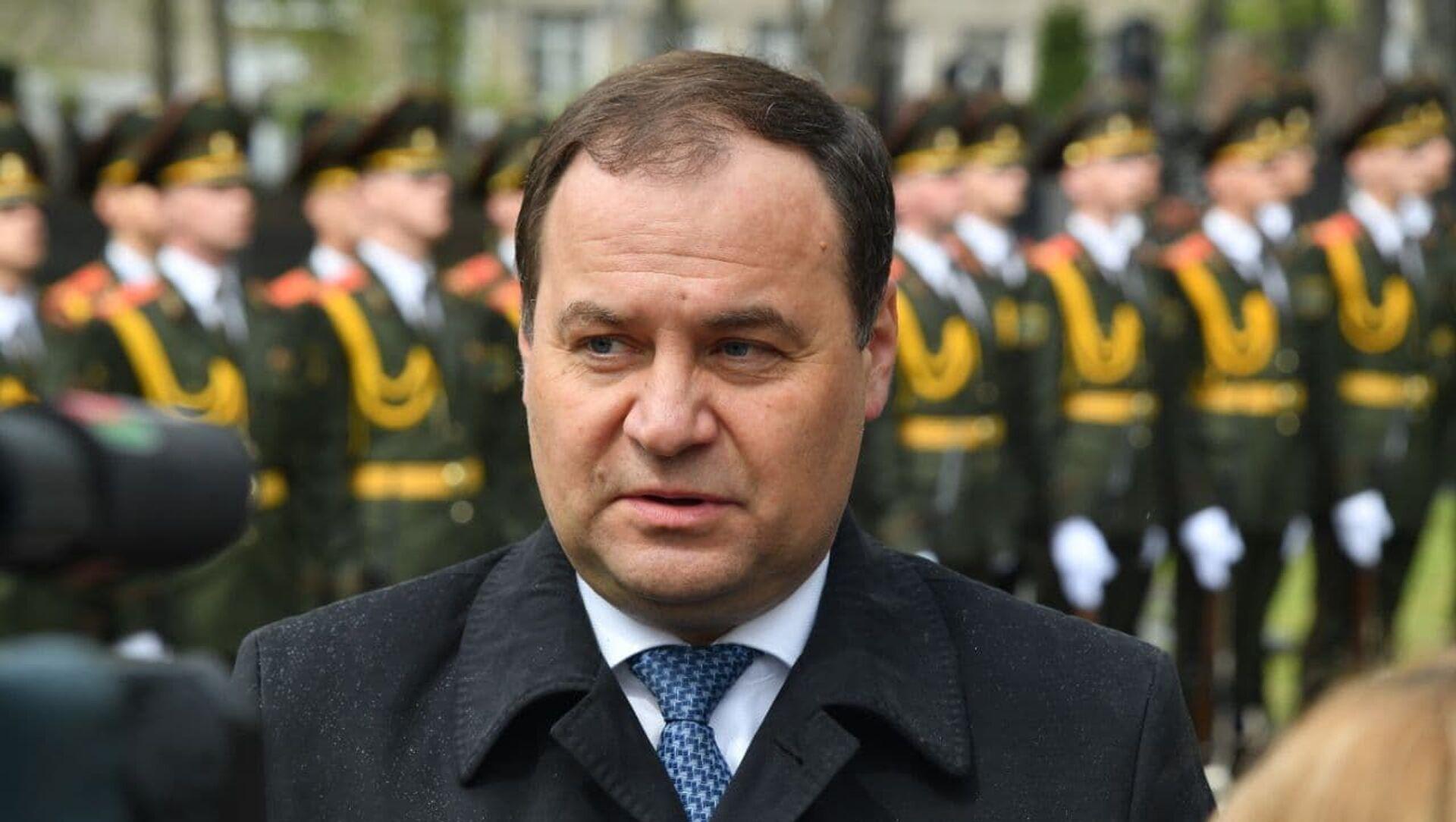 Премьер-министр Беларуси Роман Головченко  - Sputnik Беларусь, 1920, 07.05.2021