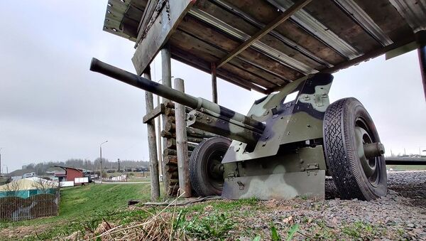Саракапятка супраць танкаў: 45-мм гармата 1937 года - відэа - Sputnik Беларусь