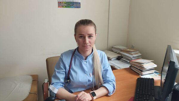 Врач общей практики Татьяна Кмито УЗ 5-я городская клиническая поликлиника - Sputnik Беларусь