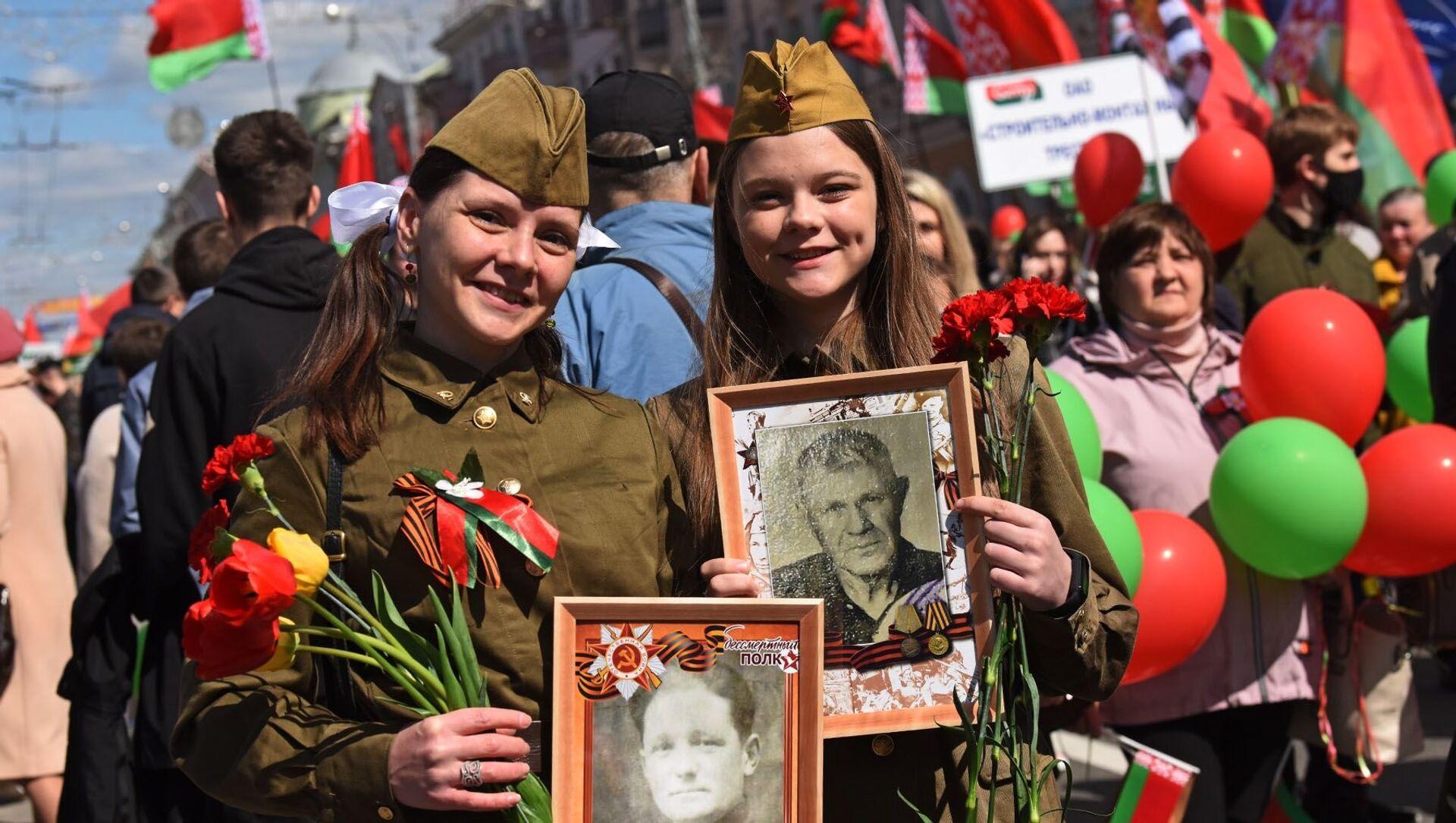 Акция Беларусь помнит в Гомеле - Sputnik Беларусь, 1920, 09.05.2021