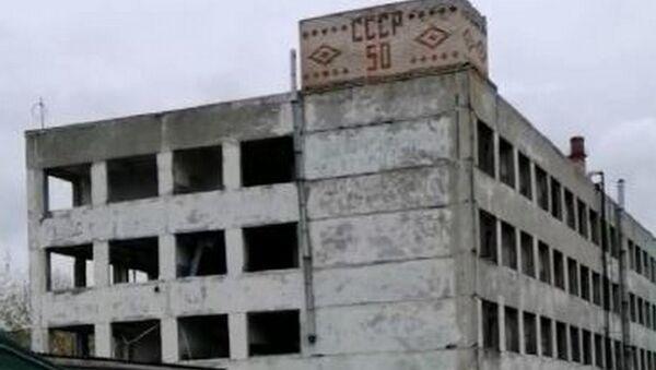 Стары будынак аднаго з прадпрыемстваў ўзарвалі ў Оршы - Sputnik Беларусь