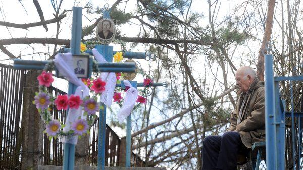 Кладбище бывшей деревни Оревичи в отселенной чернобыльской зоне - Sputnik Беларусь