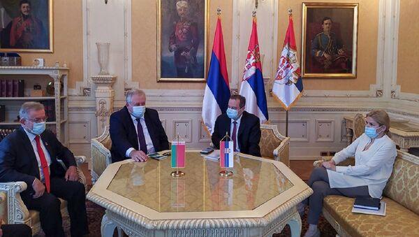 Встреча Посла Беларуси с Председателем Народной скупщины Сербии - Sputnik Беларусь