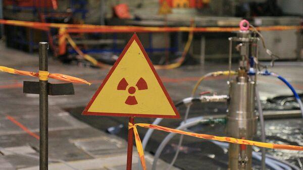 Знак радыяцыйнай небяспекі на АЭС - Sputnik Беларусь