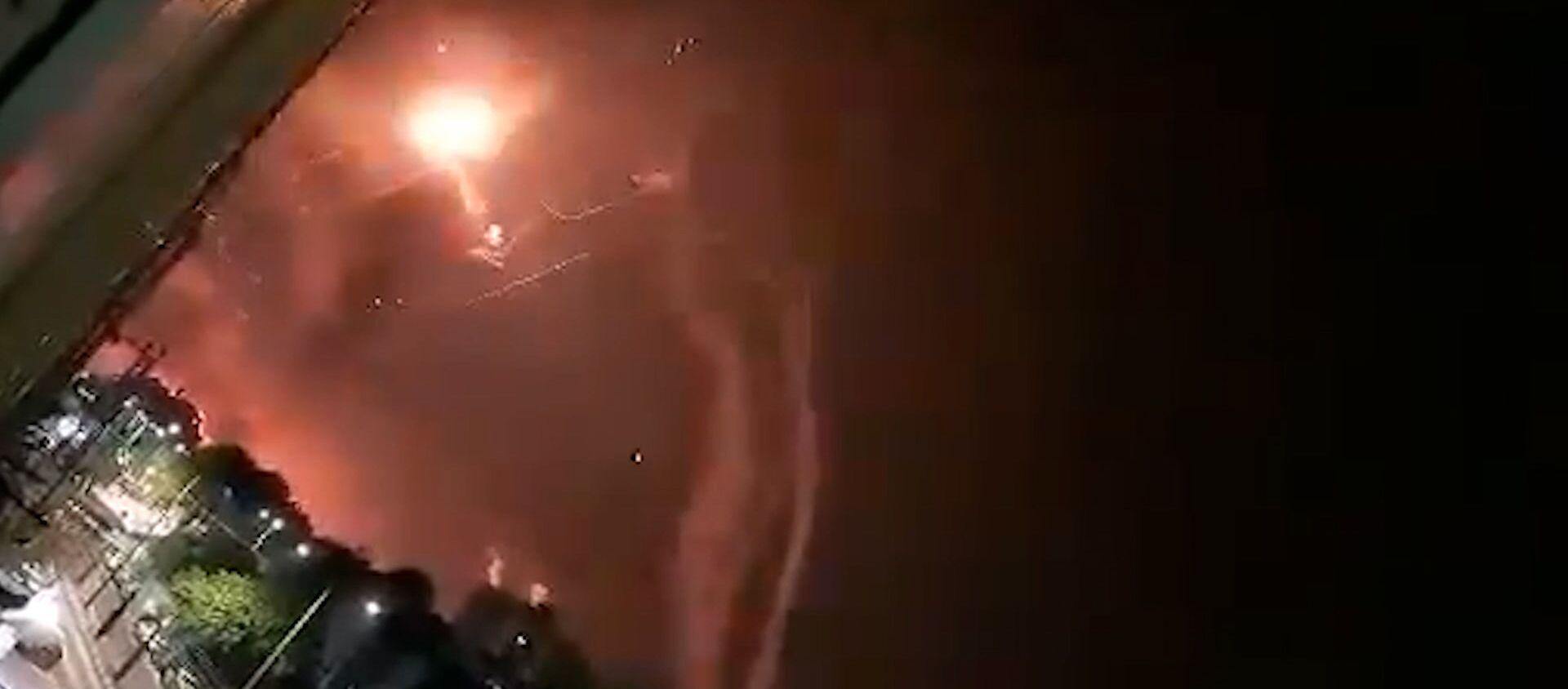 Израиль и Палестина: обмен ракетными ударами не прекращается - видео - Sputnik Беларусь, 1920, 12.05.2021