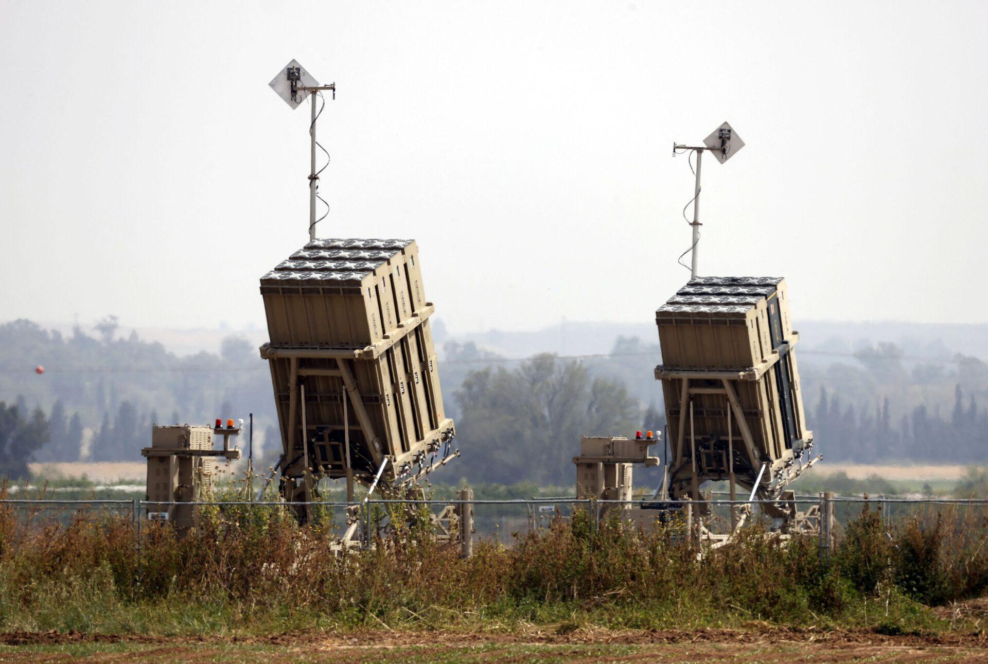 Система противовоздушной обороны Iron Dome (Железный купол) - Sputnik Беларусь, 1920, 29.06.2021