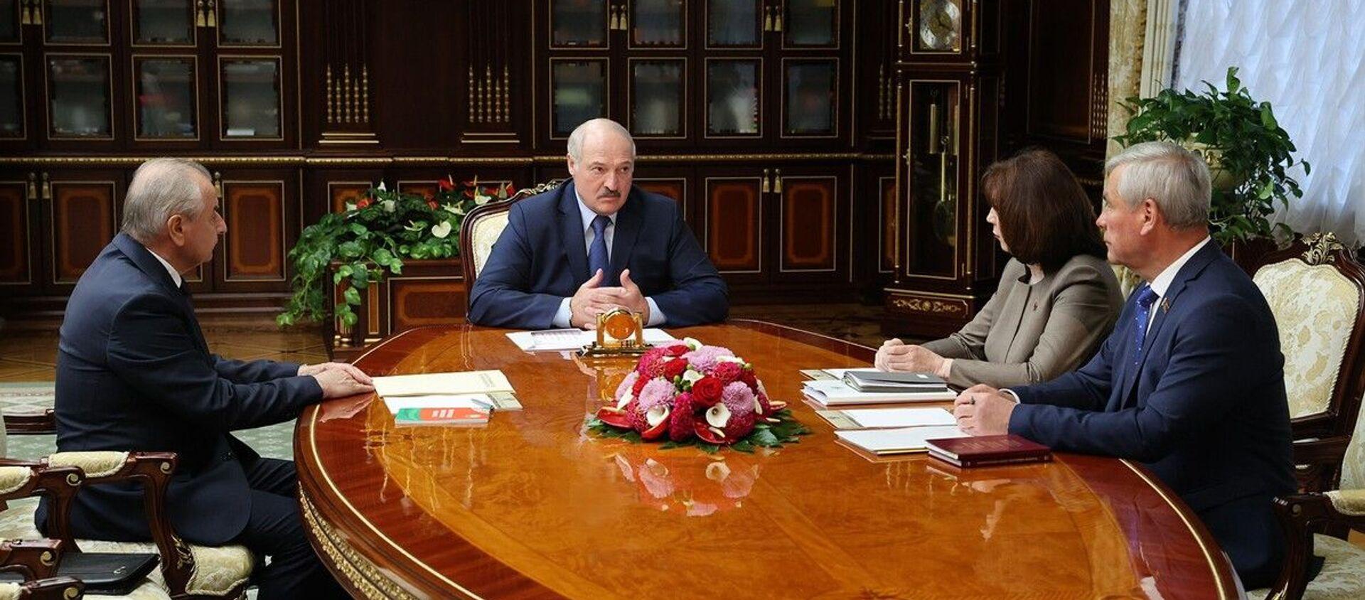 Встреча с руководителями Конституционной комиссии - Sputnik Беларусь, 1920, 13.05.2021