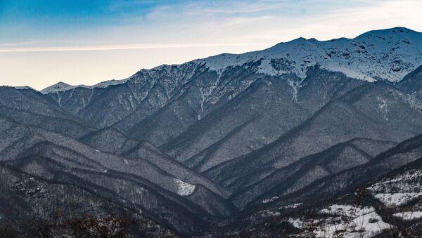 Горный пейзаж Сюникской области Армении - Sputnik Беларусь