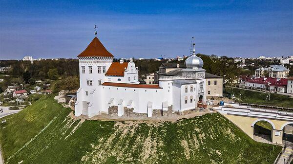 Як выглядае Стары замак у Гродна пасля рэканструкцыі – відэа - Sputnik Беларусь