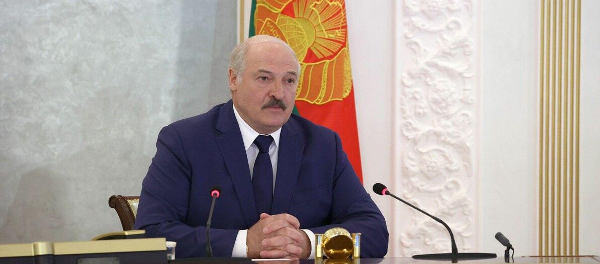 Александр Лукашенко на заседании Совета Безопасности - Sputnik Беларусь, 1920, 18.05.2021
