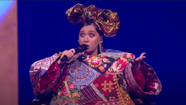 Выступление Манижи на Евровидении - Русская женщина - Sputnik Беларусь
