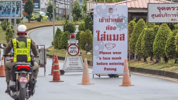 Коронавирус в Тайланде - Sputnik Беларусь