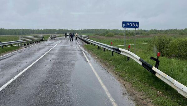 Мост через реку Рова - Sputnik Беларусь