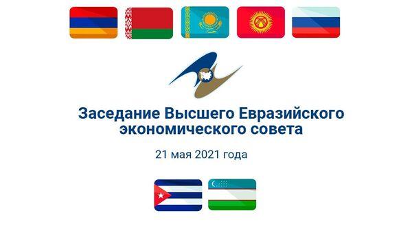 Пасяджэнне Вышэйшага Еўразійскага эканамічнага савета – відэа - Sputnik Беларусь