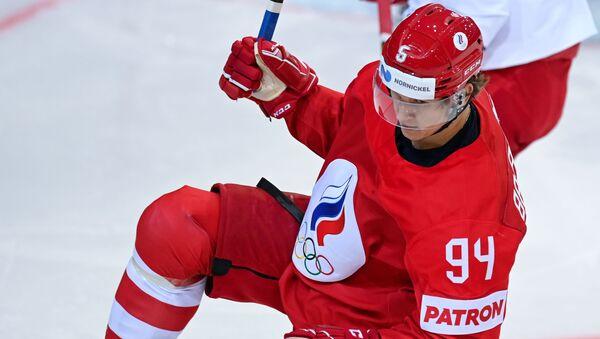 Российский хоккеист Александр Барабанов - Sputnik Беларусь