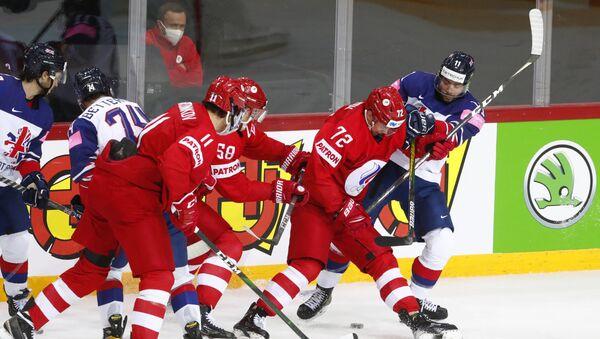 Сборная России разгромила Великобританию во втором матче ЧМ-2021 - Sputnik Беларусь